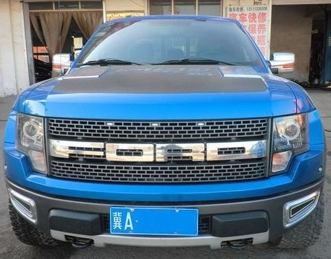 福特F系6.2L蓝色FPRO猛禽47万出售