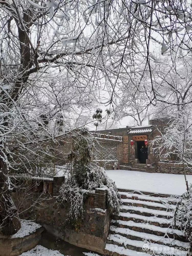 傲世署理峰峰张家楼2020年雪景图片集 一场冬雪的艳遇