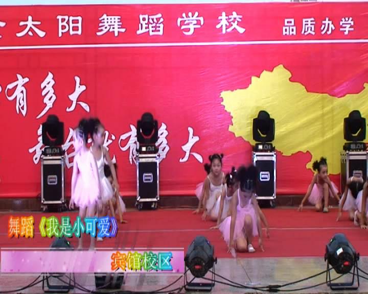 金太阳2014汇报演出幼儿场《我是小可爱》宾馆校区